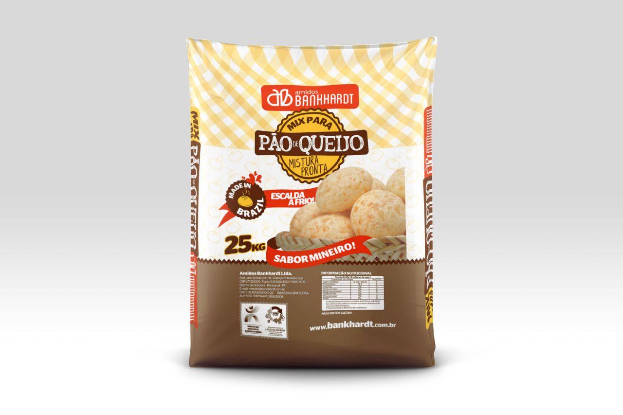 Mistura para Pão de Queijo 25 kg